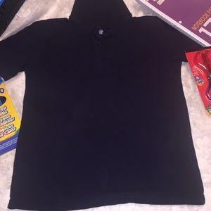 Highland Navy Blue Polo Shirt for Boys (M)